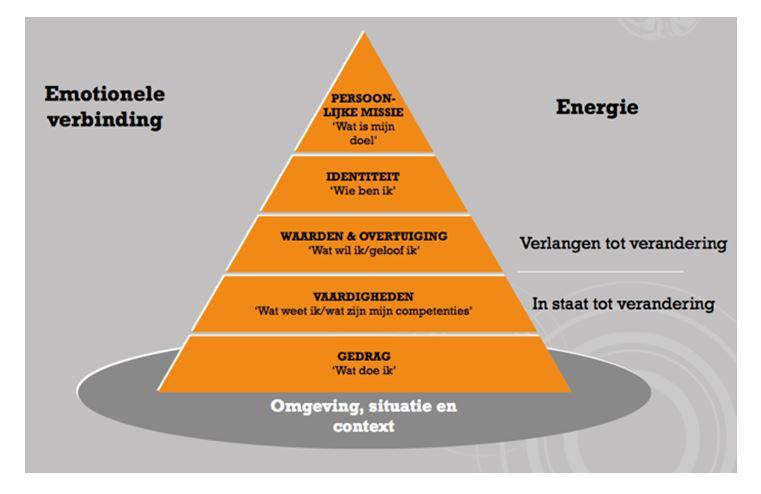 De zes logische niveaus
